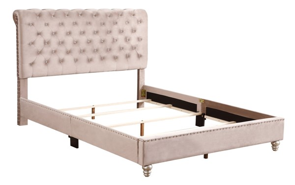 Glory Furniture Maxx Beige Queen Upholstered Bed GLRY-G1939-QB-UP