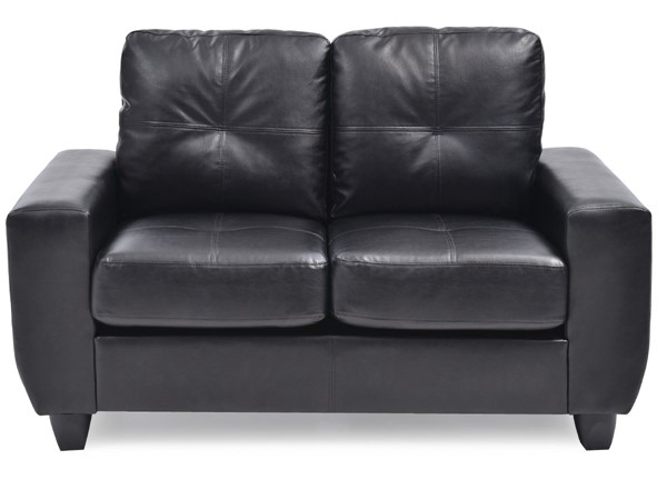 Glory Furniture Nyla Contemporary Black Loveseat GLRY-G203A-L