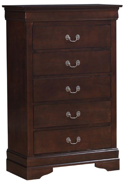 Glory Furniture Louis Phillipe Cappuccino Chest GLRY-G2125-CH