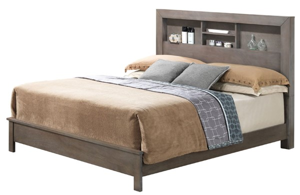 Glory Furniture Burlington Transitional Gray King Bed GLRY-G2405B-KB2