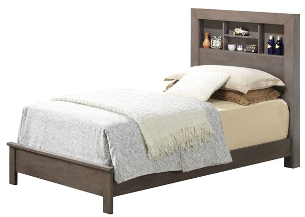 Glory Furniture Burlington Transitional Gray Twin Bed GLRY-G2405B-TB2