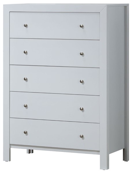 Glory Furniture Burlington Transitional White Chest GLRY-G2490-CH