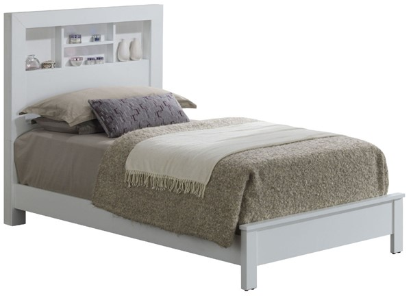 Glory Furniture Burlington Transitional White Twin Bed GLRY-G2490B-TB2