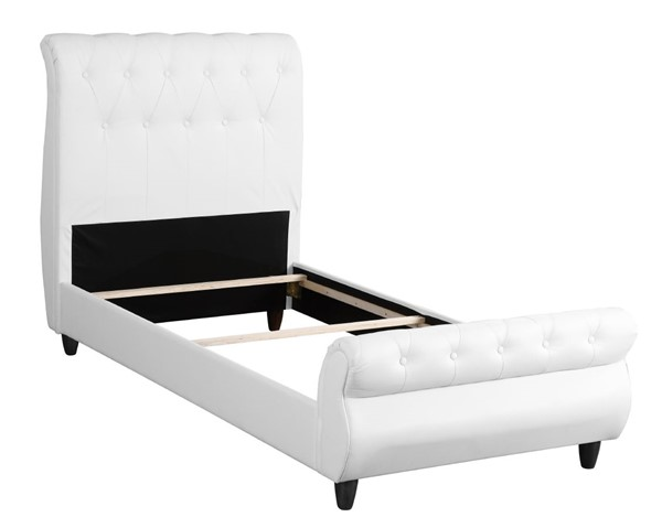 Glory Furniture Lola Transitional White Twin Bed GLRY-G2567-TB-UP