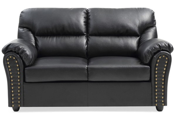 Glory Furniture Olney Contemporary Black Loveseat GLRY-G263-L