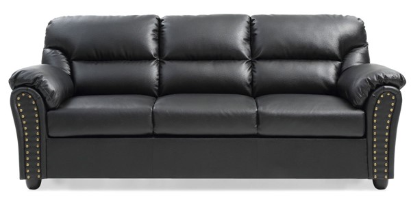 Glory Furniture Olney Contemporary Black Sofa GLRY-G263-S