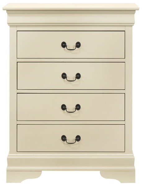 Glory Furniture Louis Phillipe Beige 4 Drawers Chest GLRY-G3175-BC