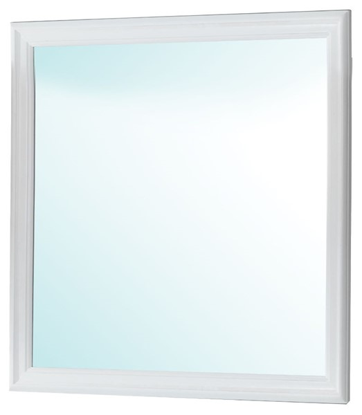 Glory Furniture Louis Phillipe Traditional White Mirror GLRY-G3190-M