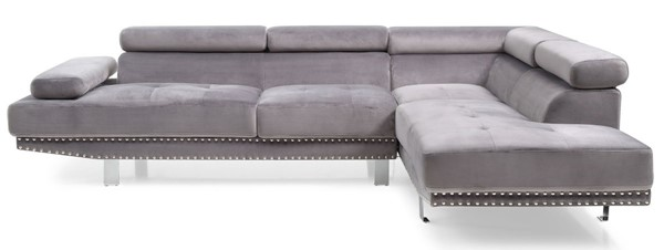 Glory Furniture Derek Contemporary Gray Sectional GLRY-G371-SC