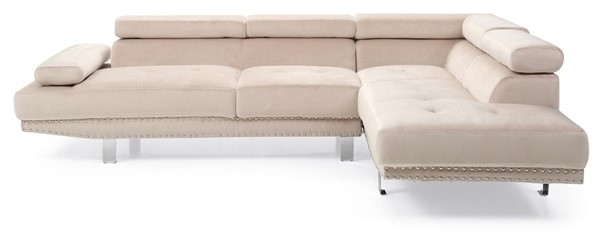 Glory Furniture Derek Contemporary Beige Sectional GLRY-G376-SC