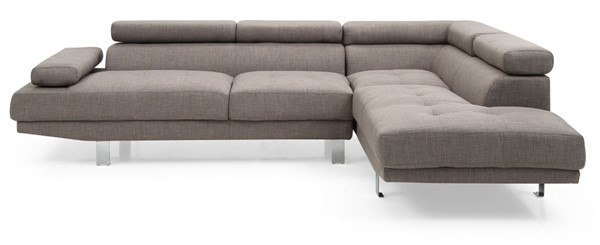 Glory Furniture Riveredge Gray Fabric Sectional GLRY-G454-SC