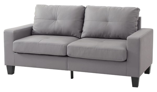 Glory Furniture Newbury Casual Gray Faux Leather Modular Sofa GLRY-G461A-S