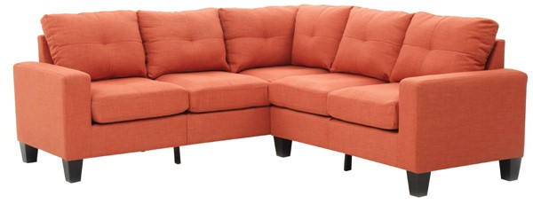 Glory Furniture Newbury Casual Orange Febric Sectional GLRY-G473B-SC