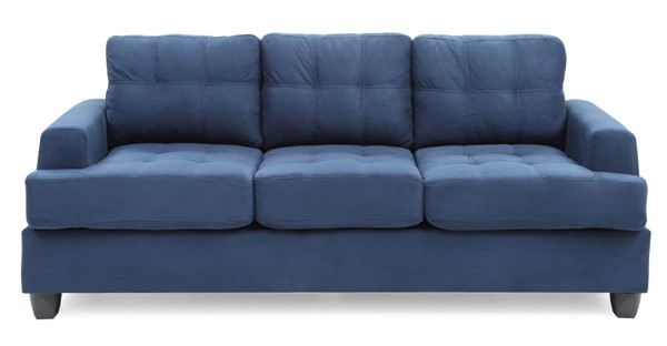 Glory Furniture Sandridge Transitional Navy Blue Sofa GLRY-G510A-S