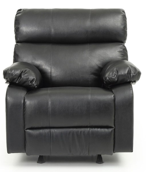 Glory Furniture Manny Contemporary Black Rocker Recliner GLRY-G533-RC