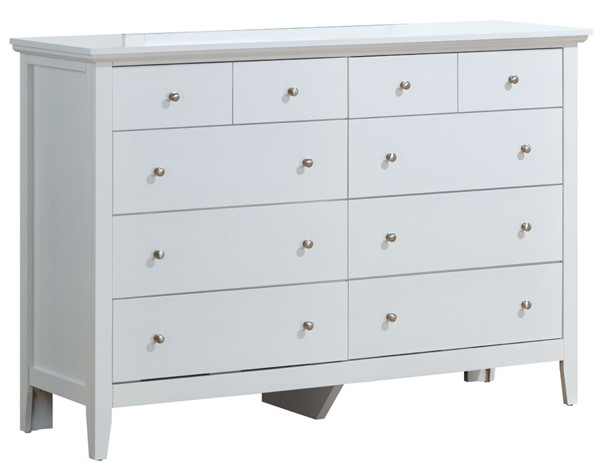 Glory Furniture Hammond Casual White Dresser GLRY-G5490-D