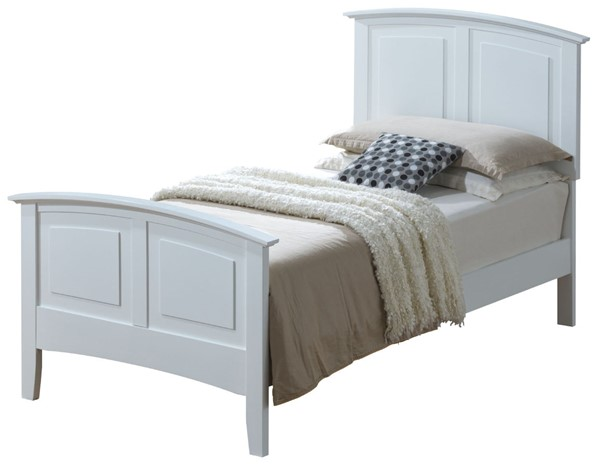 Glory Furniture Hammond Casual White Twin Bed GLRY-G5490A-TB