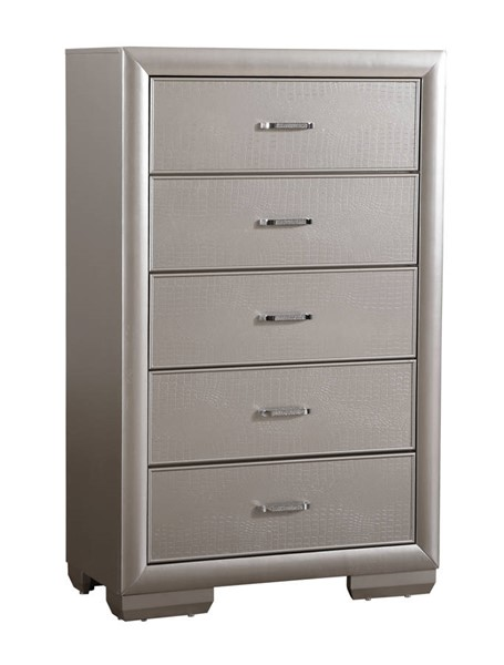 Glory Furniture Kat Silver Champagne Chest GLRY-G5600-CH