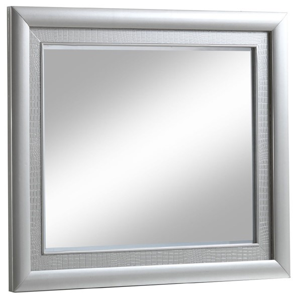 Glory Furniture Kat Contemporary Silver Champagne Mirror GLRY-G5600-M