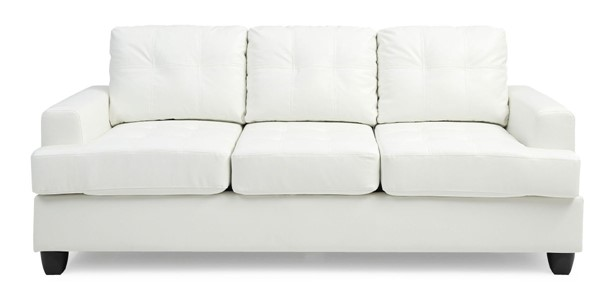 Glory Furniture Sandridge Transitional White Sofa GLRY-G587A-S