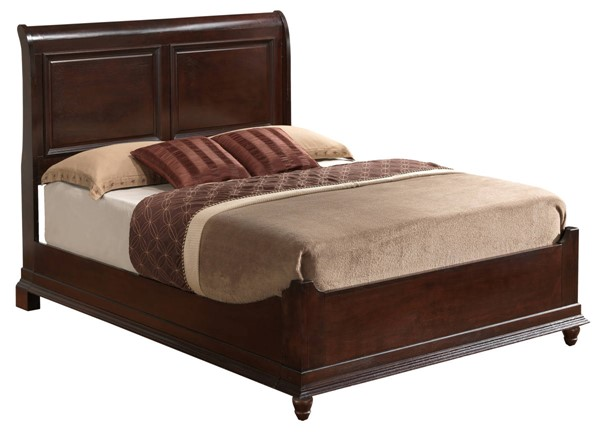 Glory Furniture Summit Cappuccino Full Panel Bed GLRY-G5950B-FB2