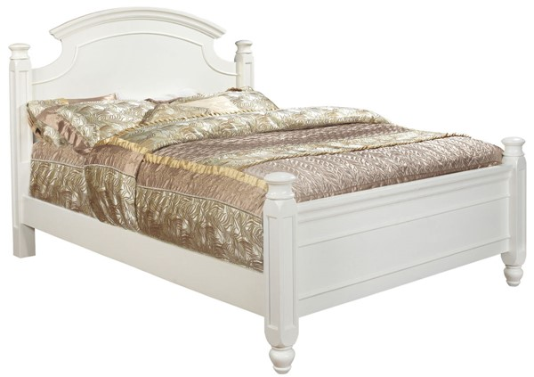 Glory Furniture Summit Traditional White Queen Bed GLRY-G5975A-QB