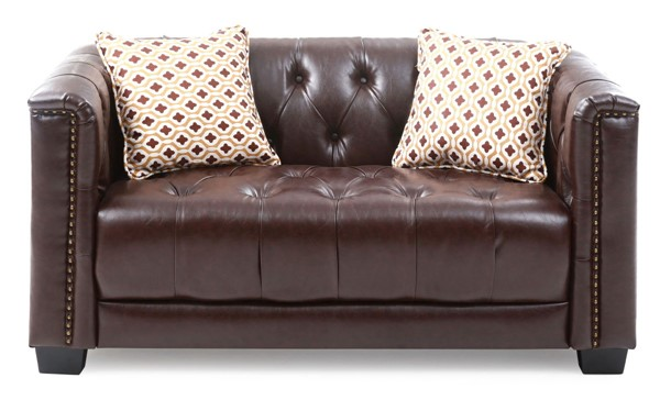 Glory Furniture Ray Brown Loveseat GLRY-G620A-L