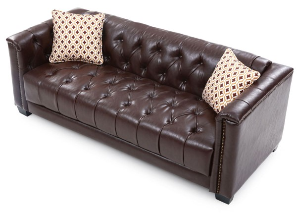 Glory Furniture Ray Transitional Brown Sofa GLRY-G620A-S