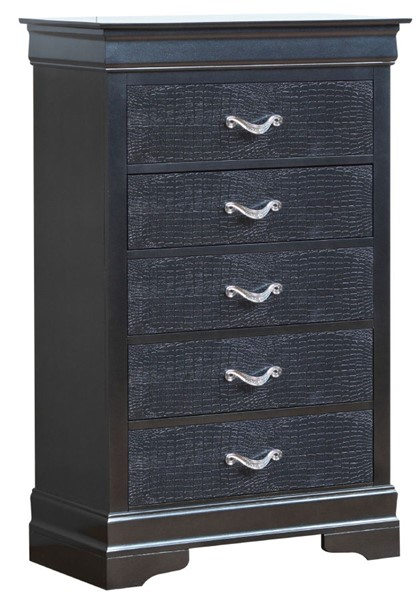 Glory Furniture Lorana Transitional Charcoal Chest GLRY-G6550-CH