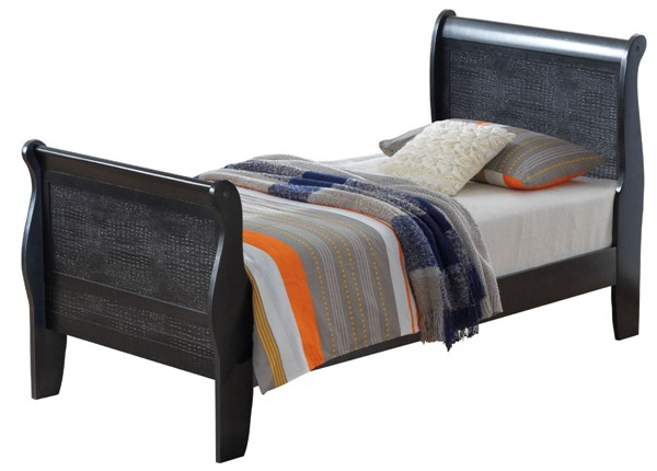 Glory Furniture Lorana Transitional Charcoal Twin Bed GLRY-G6550A-TB