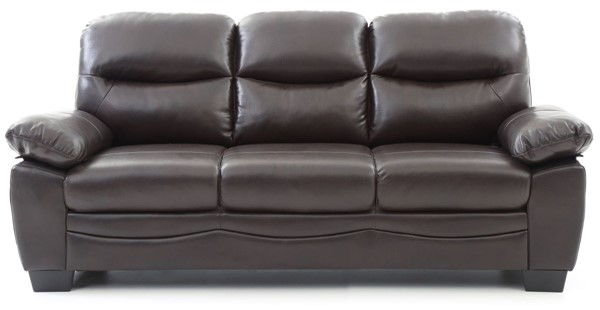 Glory Furniture Marta Casual Dark Brown Sofas GLRY-G67-SF-VAR