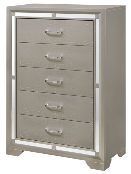Glory Furniture Alana Silver Champagne Chest GLRY-G6800-CH