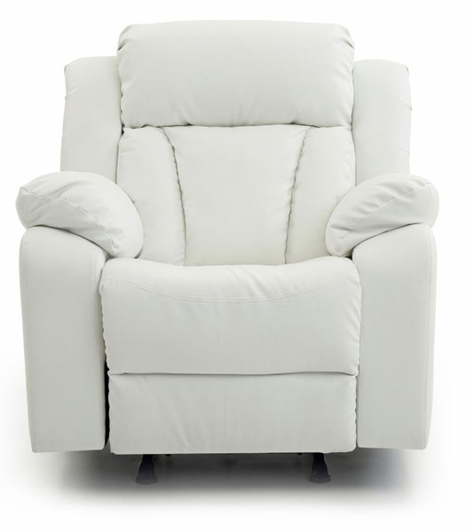 Glory Furniture Daria Casual White Rocker Recliner GLRY-G682-RC