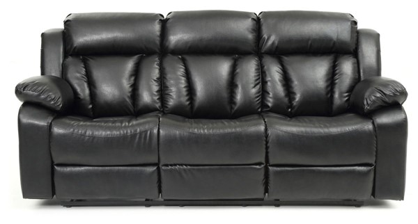 Glory Furniture Daria Casual Black Reclining Sofa GLRY-G683-RS