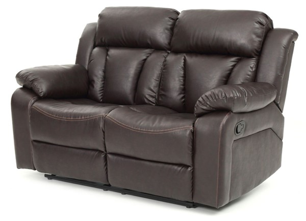 Glory Furniture Daria Dark Brown Reclining Love Seat GLRY-G686-RL