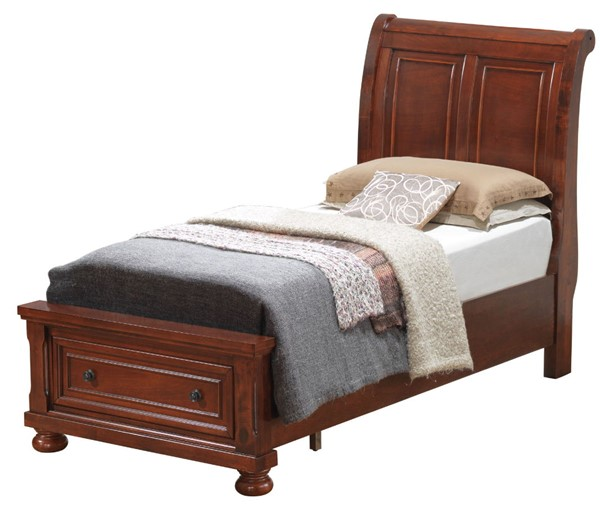 Glory Furniture Scarborough Traditional Cherry Twin Bed GLRY-G7010A-TB