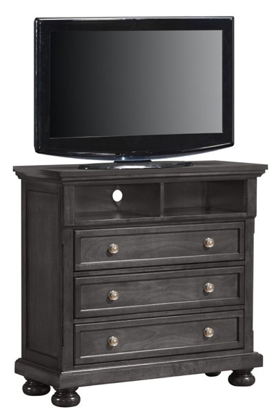 Glory Furniture Scarborough Traditional Gray Media Chest GLRY-G7015-TV
