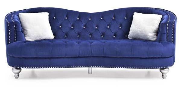 Glory Furniture Jewel Traditional Blue Sofas GLRY-G75-SF-VAR