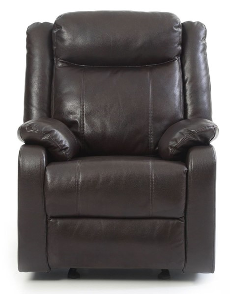 Glory Furniture Ward Contemporary Dark Brown Rocker Recliner GLRY-G760A-RC