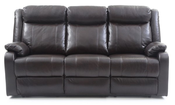 Glory Furniture Ward Contemporary Dark Brown Double Reclining Sofa GLRY-G760A-RS