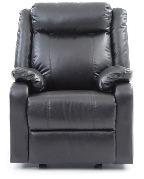 Glory Furniture Ward Contemporary Black Rocker Recliner GLRY-G761A-RC