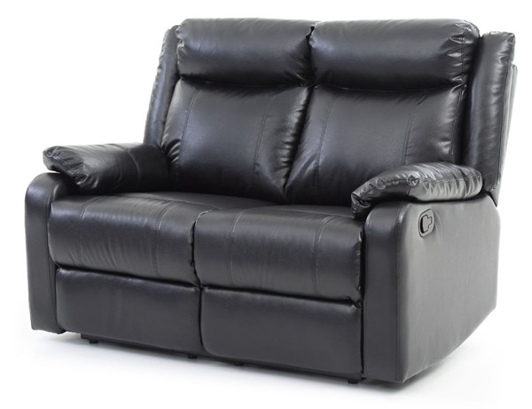 Glory Furniture Ward Contemporary Black Double Reclining Loveseat GLRY-G761A-RL