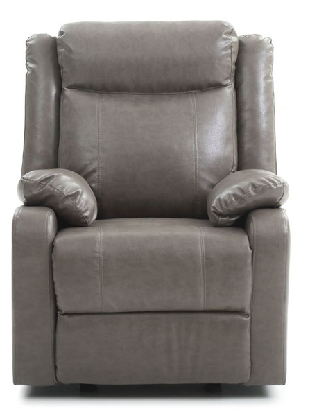 Glory Furniture Ward Contemporary Gray Rocker Recliner GLRY-G763A-RC