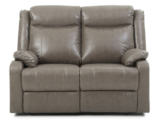 Glory Furniture Ward Contemporary Gray Double Reclining Loveseat GLRY-G763A-RL