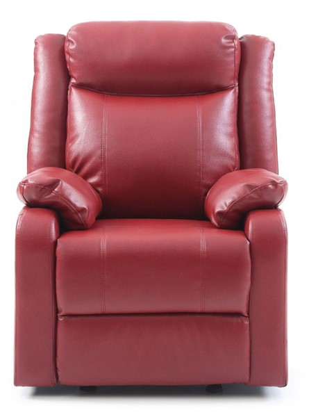 Glory Furniture Ward Contemporary Red Rocker Recliner GLRY-G765A-RC
