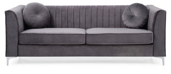 Glory Furniture Delray Contemporary Gray Sofa GLRY-G790A-S