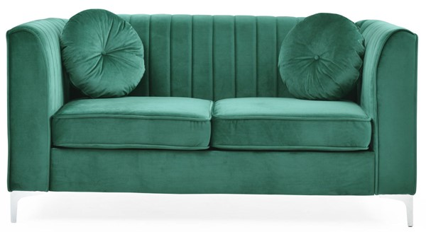 Glory Furniture Delray Contemporary Green Loveseat GLRY-G792A-L