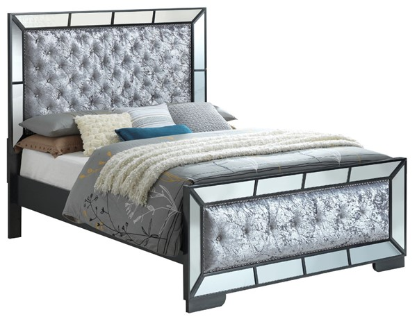 Glory Furniture Hollywood Hills Charcoal Queen Bed GLRY-G8150A-QB
