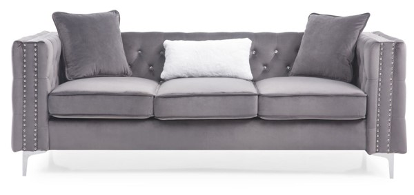 Glory Furniture Paige Contemporary Gray Sofas GLRY-G822A-SF-VAR