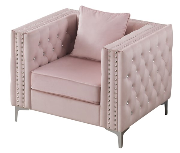 Glory Furniture Paige Pink Chair GLRY-G824A-C